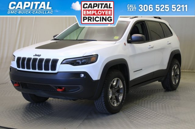 certified pre owned 2019 jeep cherokee trailhawk elite leather sunroof nav