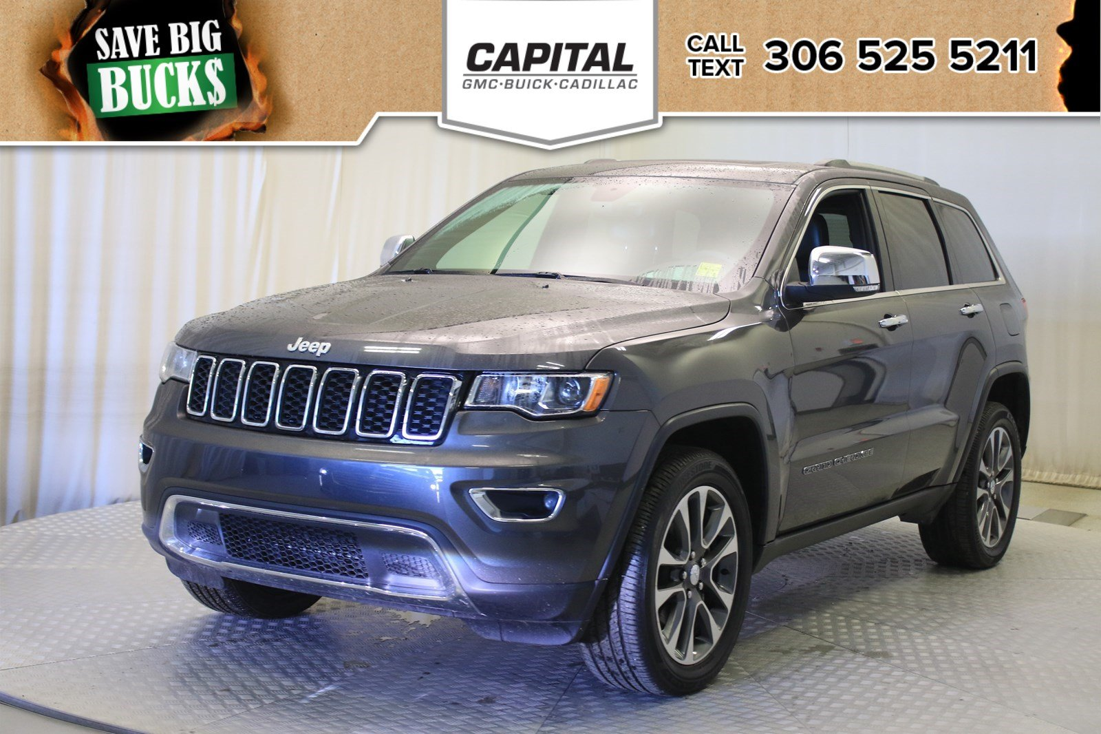 Certified Pre Owned Jeep >> Certified Pre Owned 2018 Jeep Grand Cherokee Limited Leather Suv In