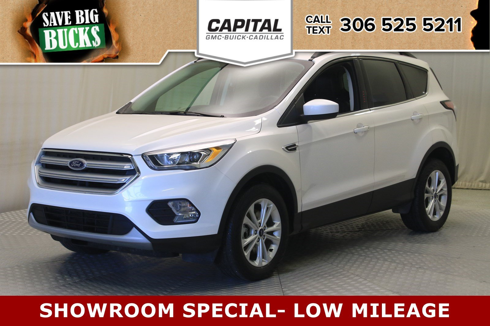 Ford Escape Sunroof >> Certified Pre Owned 2018 Ford Escape Sel 4wd Nav Sunroof Leather 4wd Stock 19086a