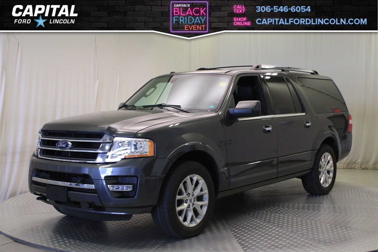 Pre owned 2017 ford expedition max limited 4wd