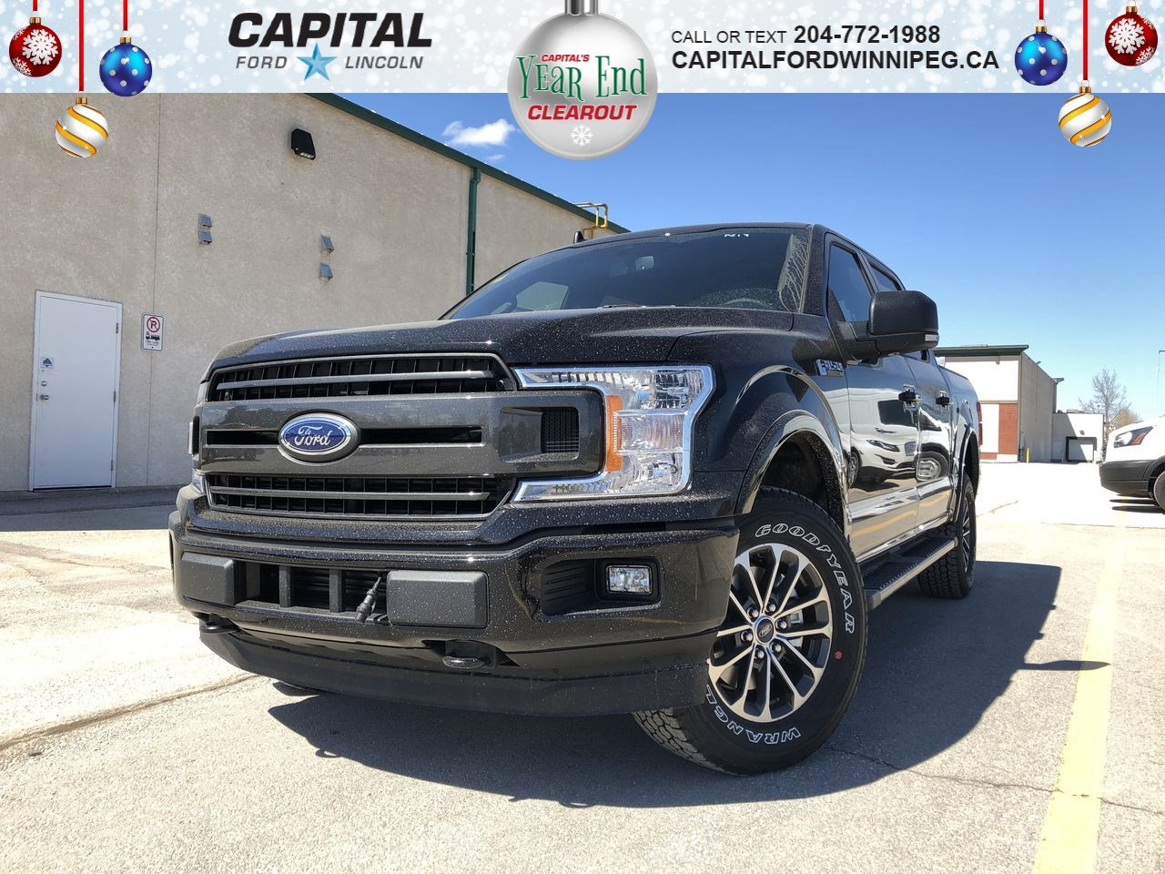 New 2019 Ford F-150 XLT*Sport*3.5L*Heated Seats*Tow Pkg*Upgraded Tires*Bluetooth