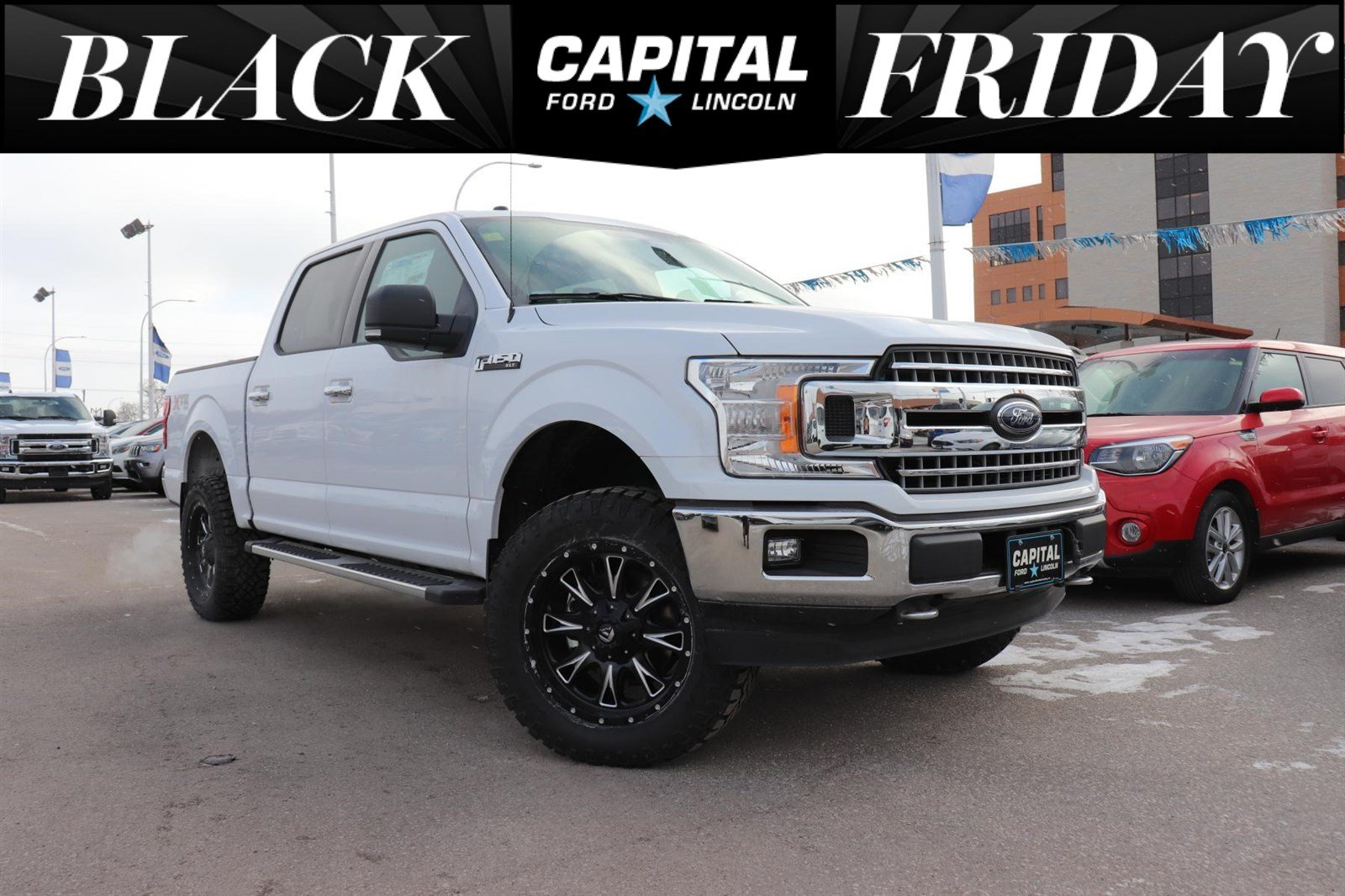 New 2018 Ford F 150 Xtr W 4 Leveling Kit Upgraded Off Road Tires