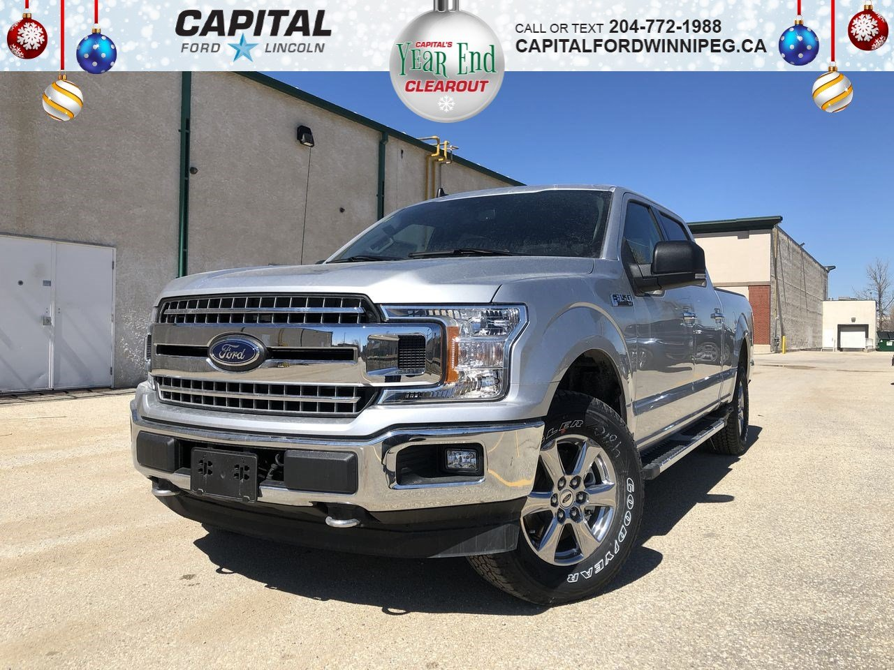 New 2019 Ford F-150 XLT*6.5' Box*5.0L*Navigation*XTR Chrome Pkg