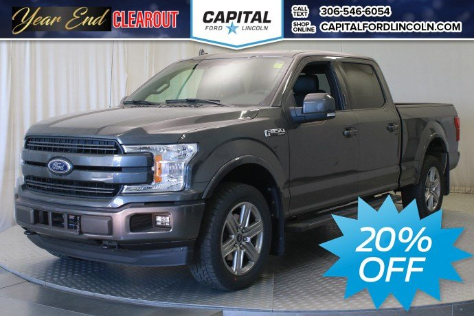 New 2018 Ford F 150 Lariat