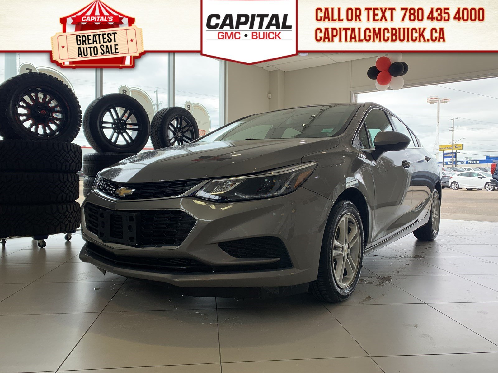 Certified Pre-Owned 2018 Chevrolet Cruze LT | HEATED SEATS | BACKUP CAMERA | SUNROOF | 27K KMS