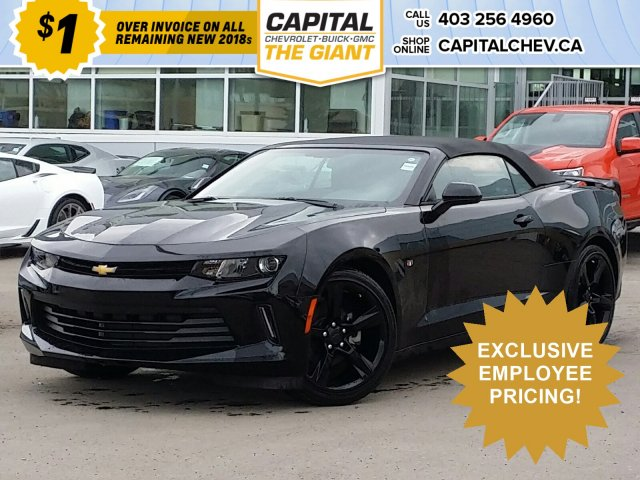 New 2018 Chevrolet Camaro LT- $1 OVER INVOICE