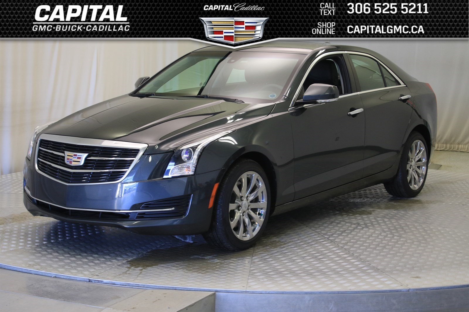 Certified Pre Owned 2018 Cadillac Ats Sedan Luxury Awd Leather