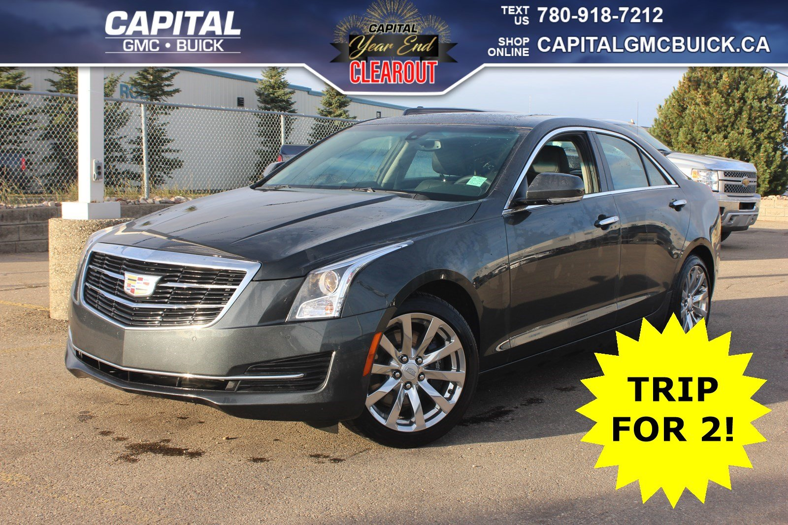 Pre Owned 2018 Cadillac Ats Sedan Luxury Awd Heated Seats