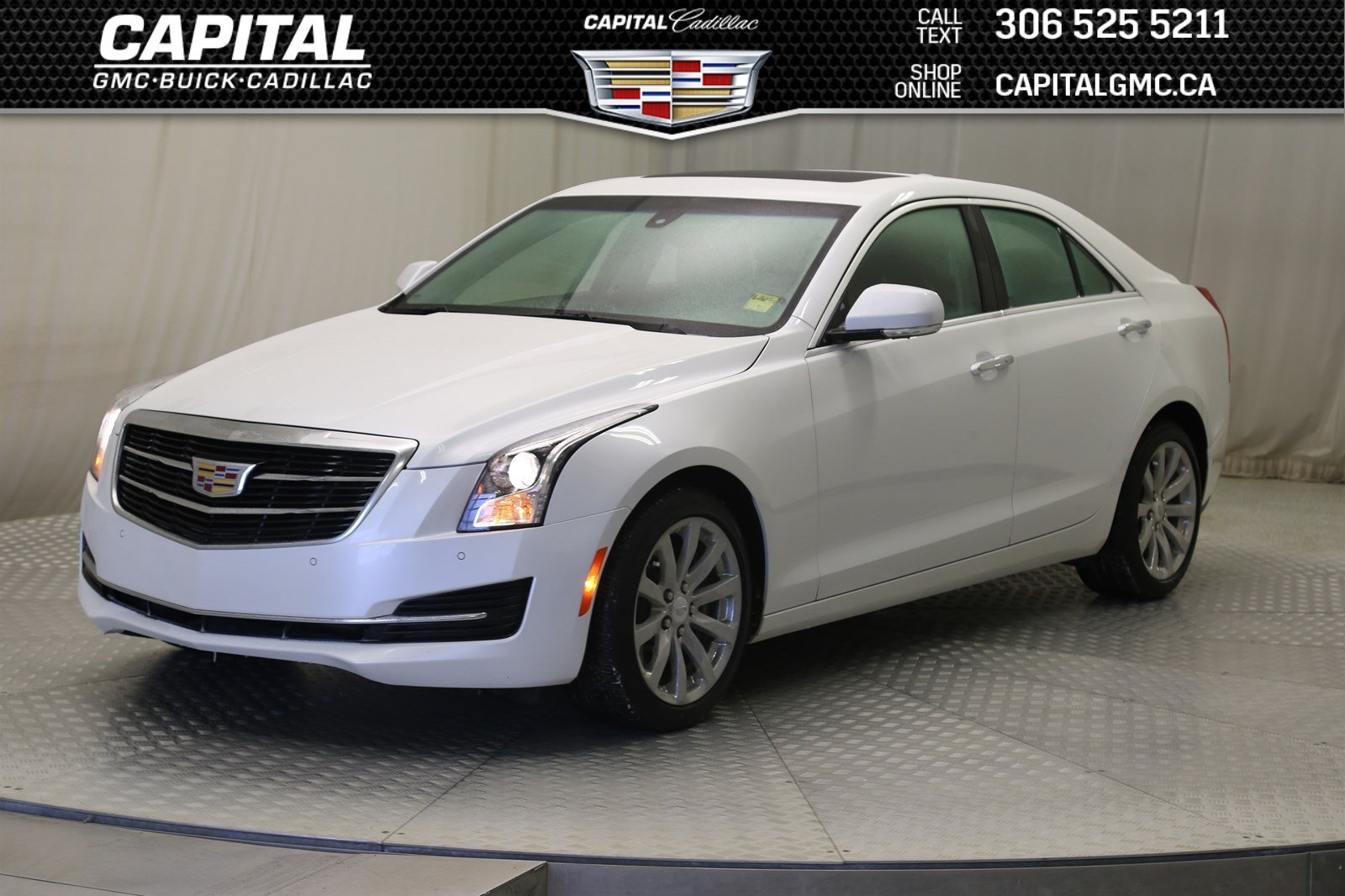 Certified Pre Owned 2018 Cadillac Ats Sedan Luxury Awd Nav Leather