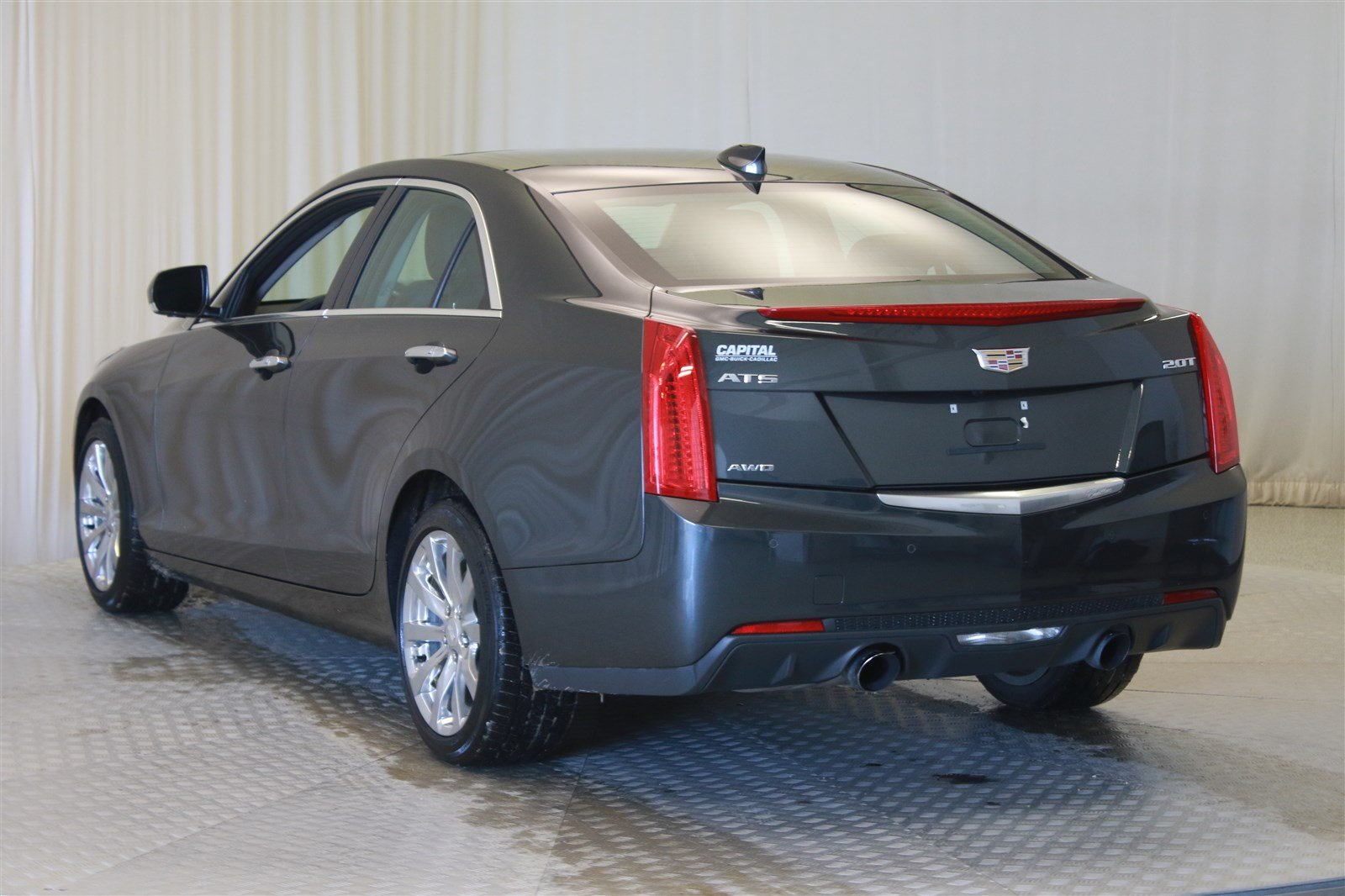 sedans ats quarter three agile sedan view cadillac l front vehicles highlights of