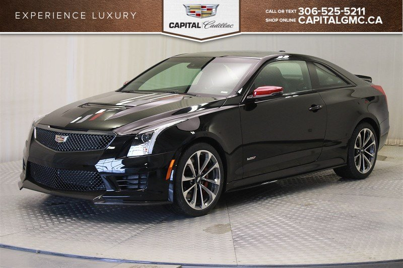 New 2018 Cadillac ATS-V Coupe 2 Door Coupe in Regina #38570 ...