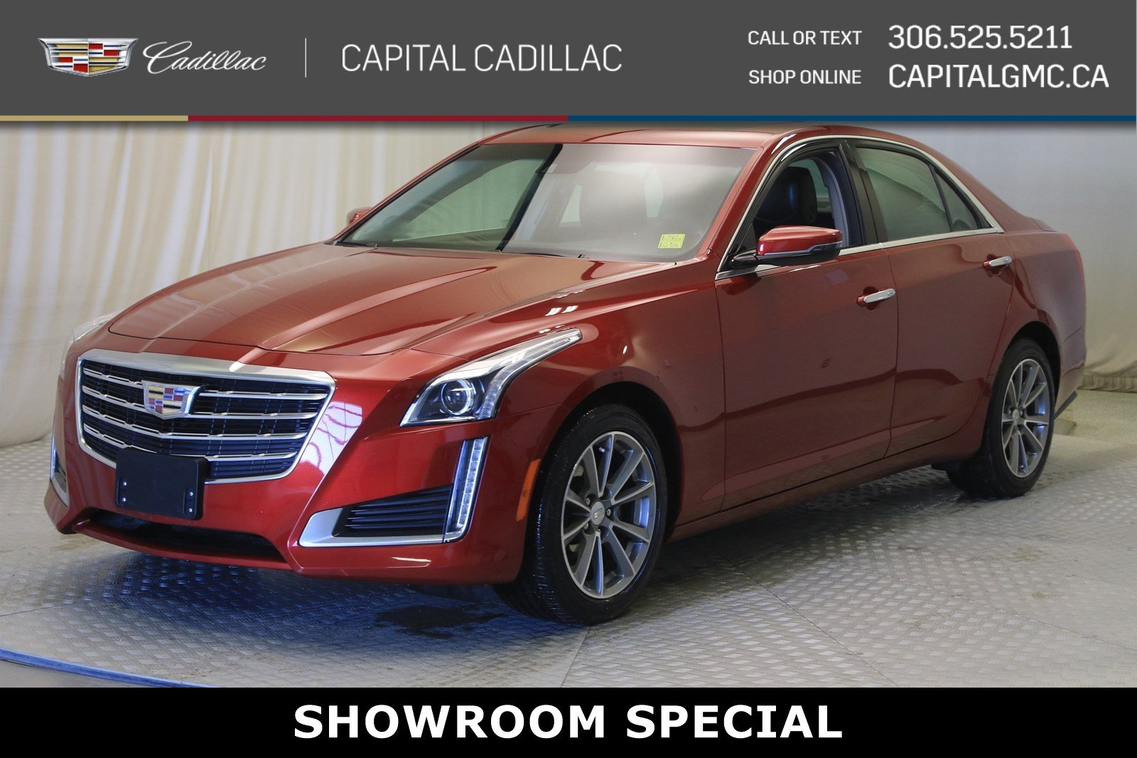 Certified Pre-Owned 2018 Cadillac CTS Sedan Luxury AWD*NAV*LEATHER*SUNROOF*