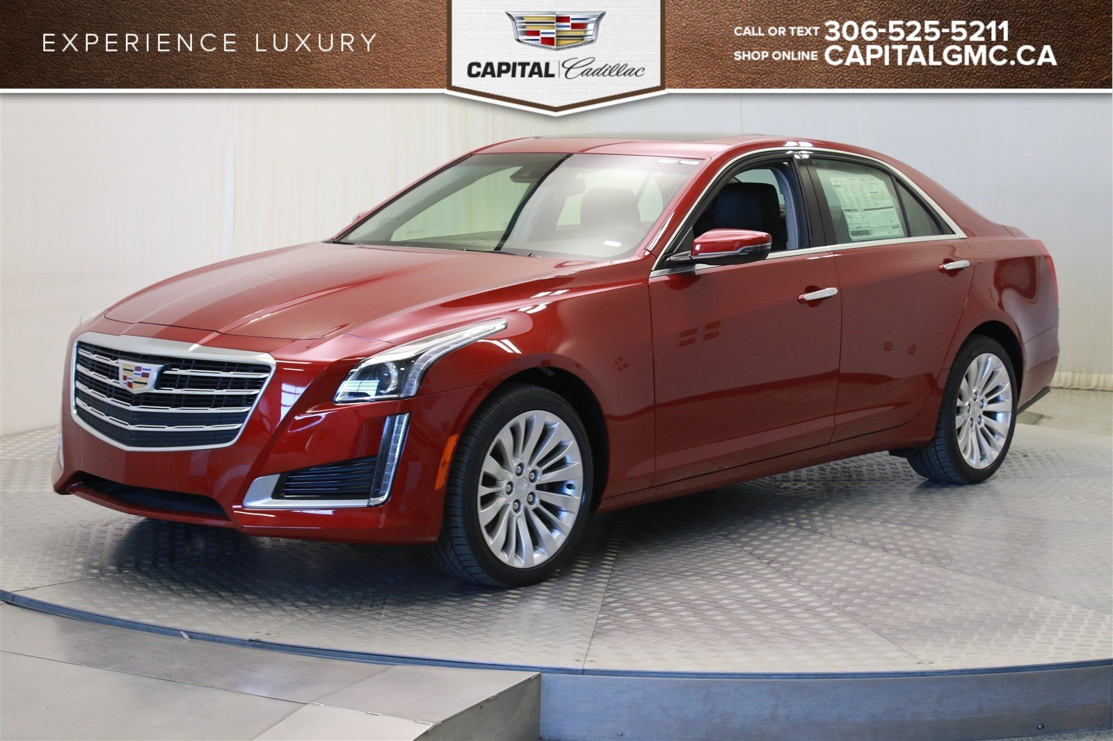 new 2018 cadillac cts sedan luxury collection awd 4 door sedan in regina 38183 capital auto group. Black Bedroom Furniture Sets. Home Design Ideas