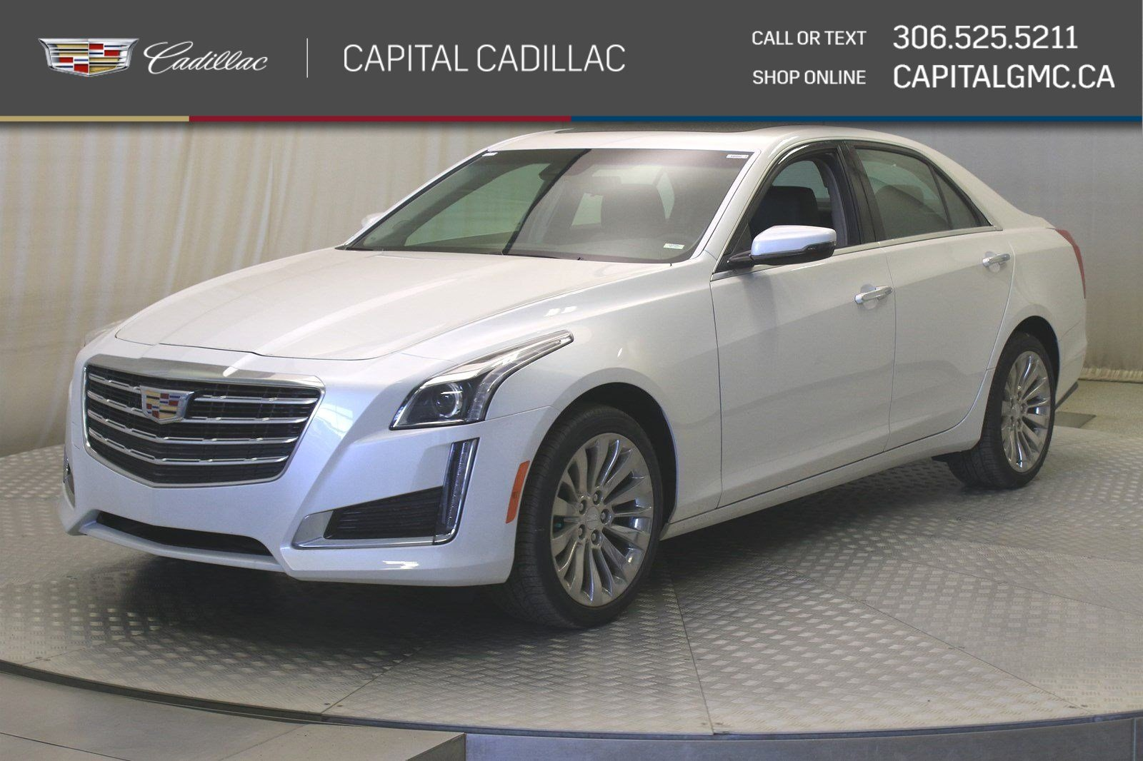 New 2019 Cadillac CTS Sedan Luxury AWD*Sunroof-Carbon Fibre Trim-Rear Camera Mirror*