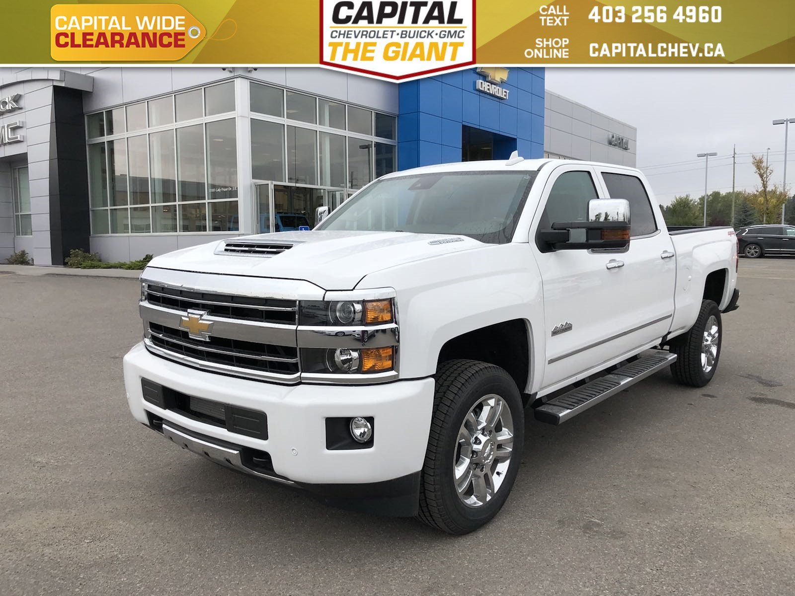 Certified Pre Owned 2018 Chevrolet Silverado 2500HD High Country