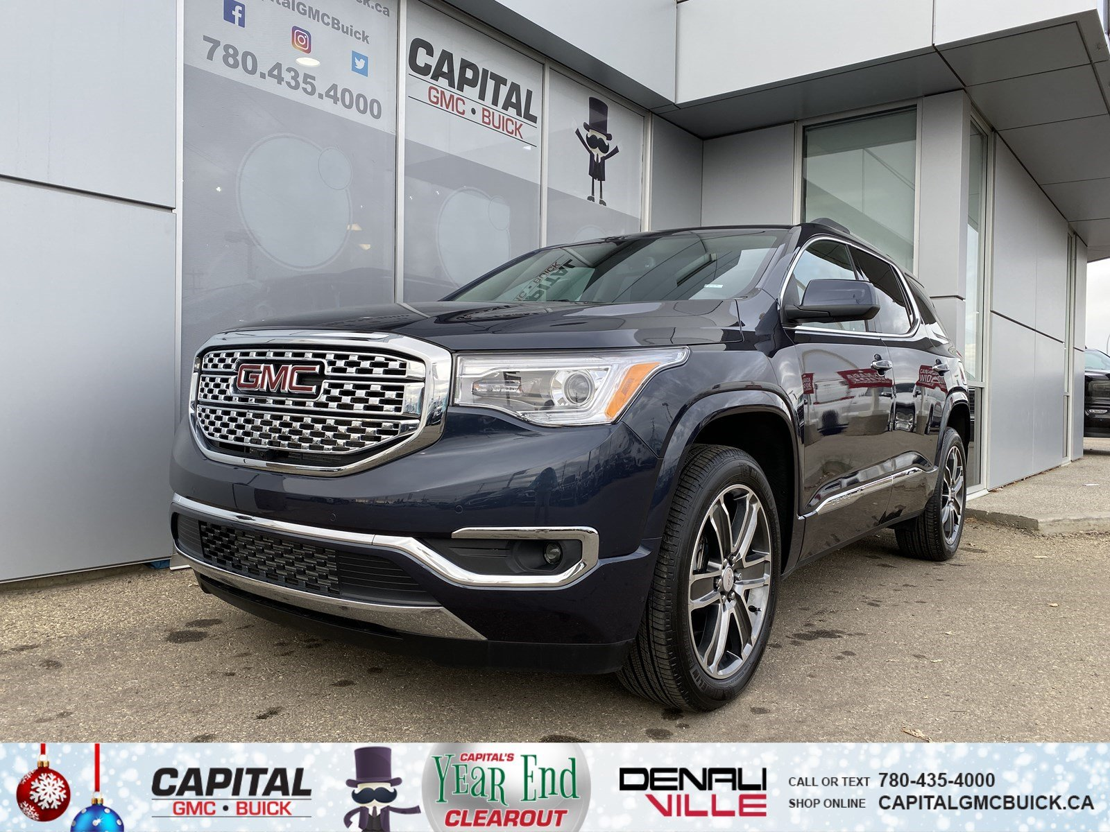 New 2019 GMC Acadia Denali AWD