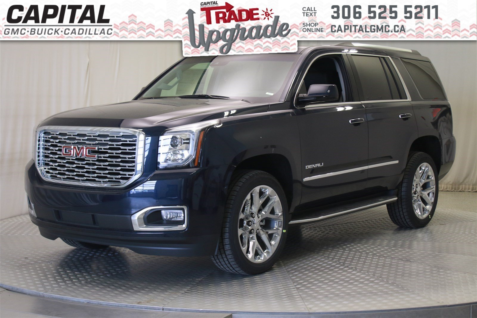 New 2019 Gmc Yukon Denali Suv In Regina 39101 Capital Auto Group