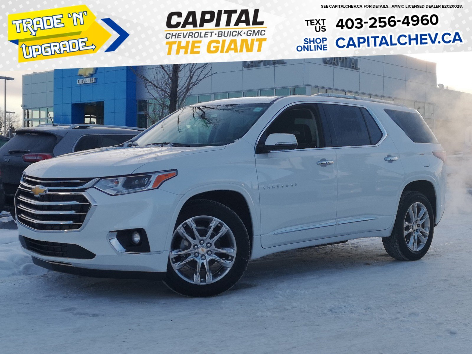 New 2020 Chevrolet Traverse High Country Sport Utility In Calgary