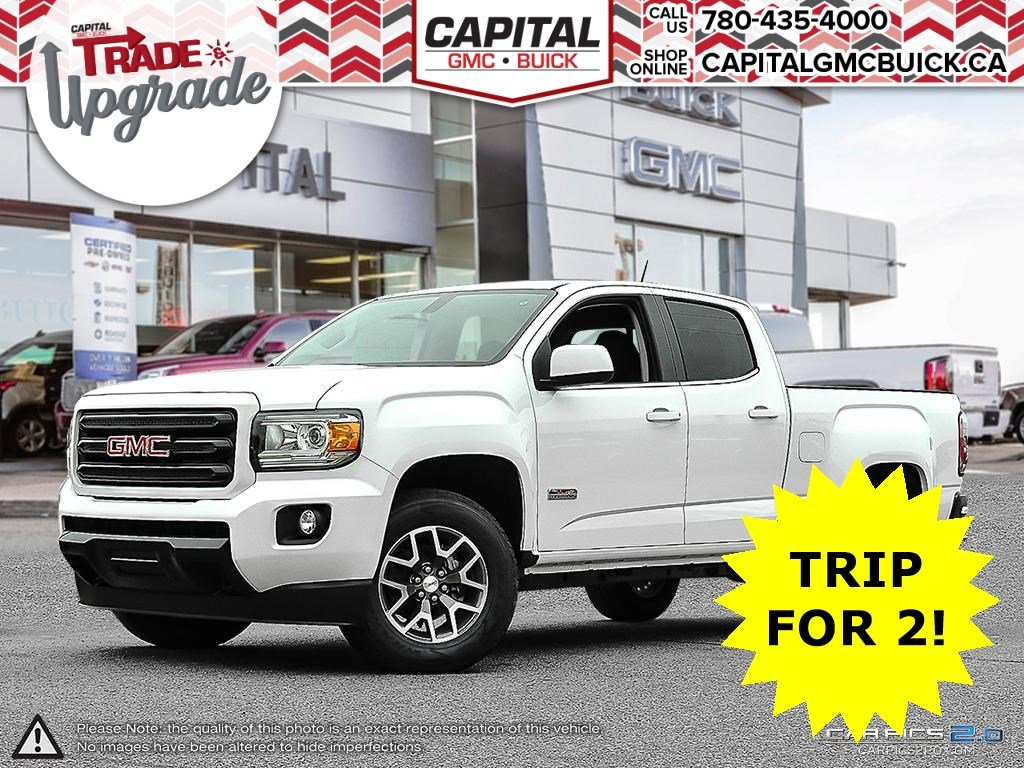 Pre-Owned 2018 GMC Canyon 4WD ALL TERRAIN | HEATED SEATS | PARTIAL LEATHER | LOW KM