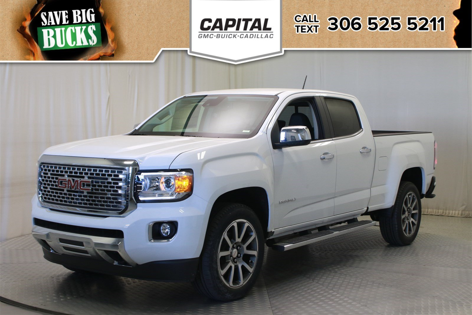 New 2019 GMC Canyon 4WD Denali Crew Cab