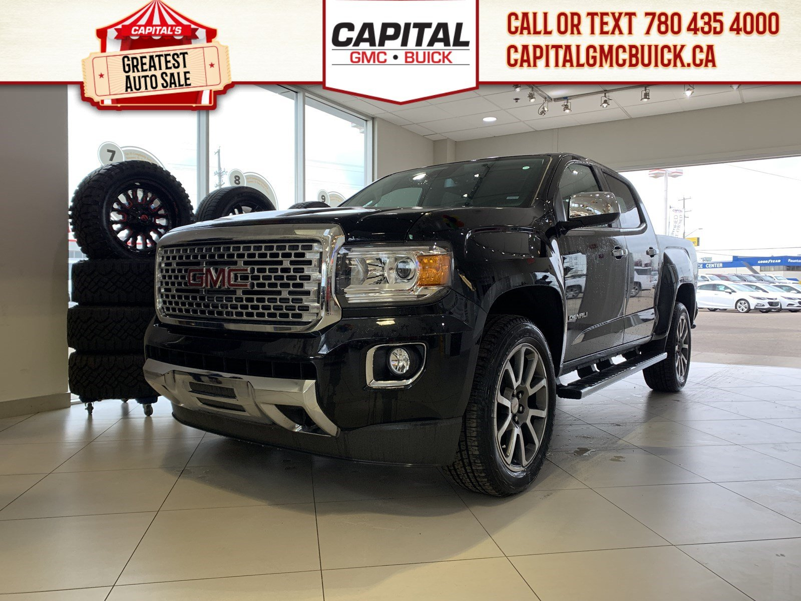 New 2019 GMC Canyon Crew Cab 4WD Denali
