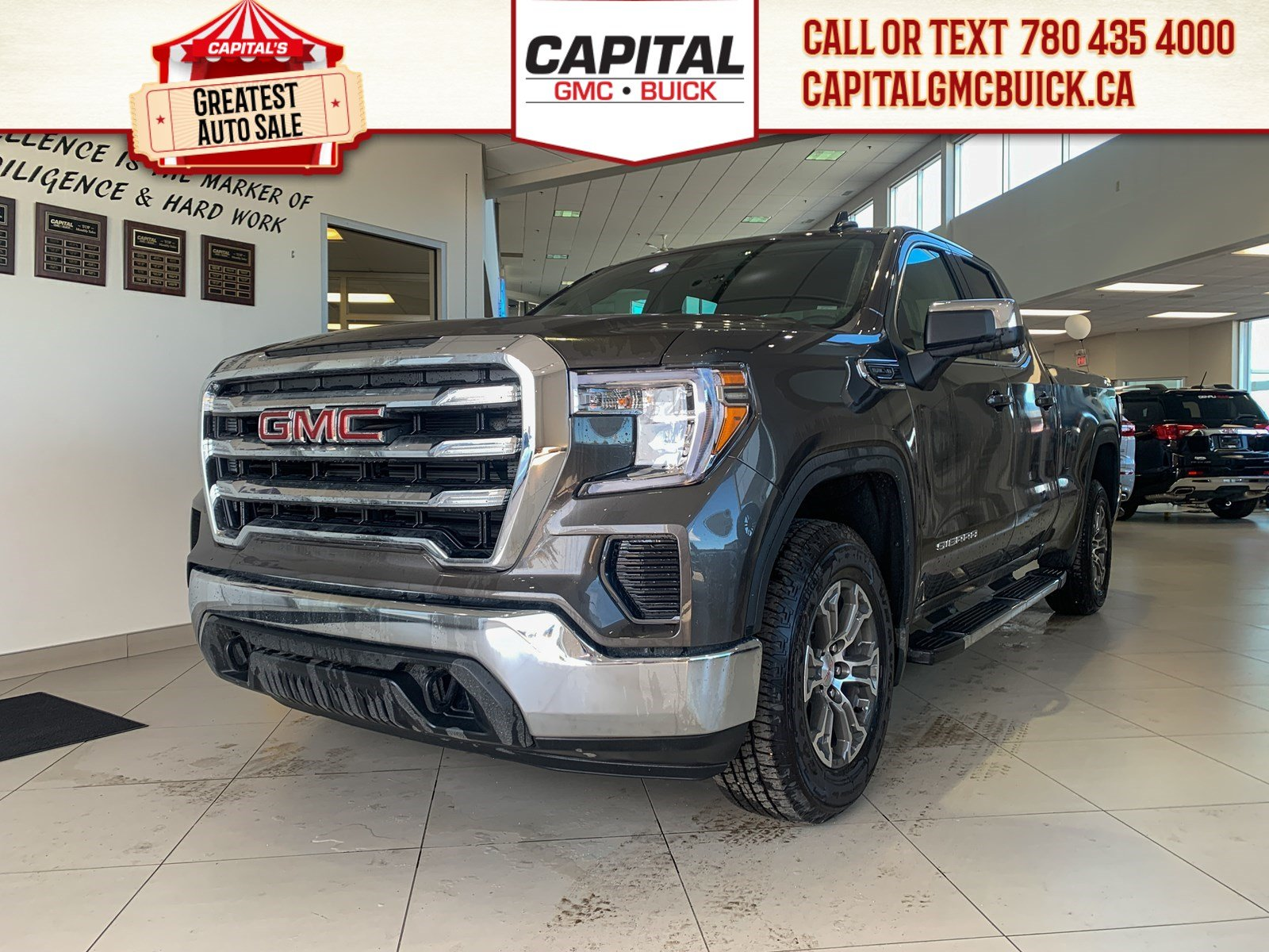 New 2019 GMC Sierra 1500 Double Cab SLE