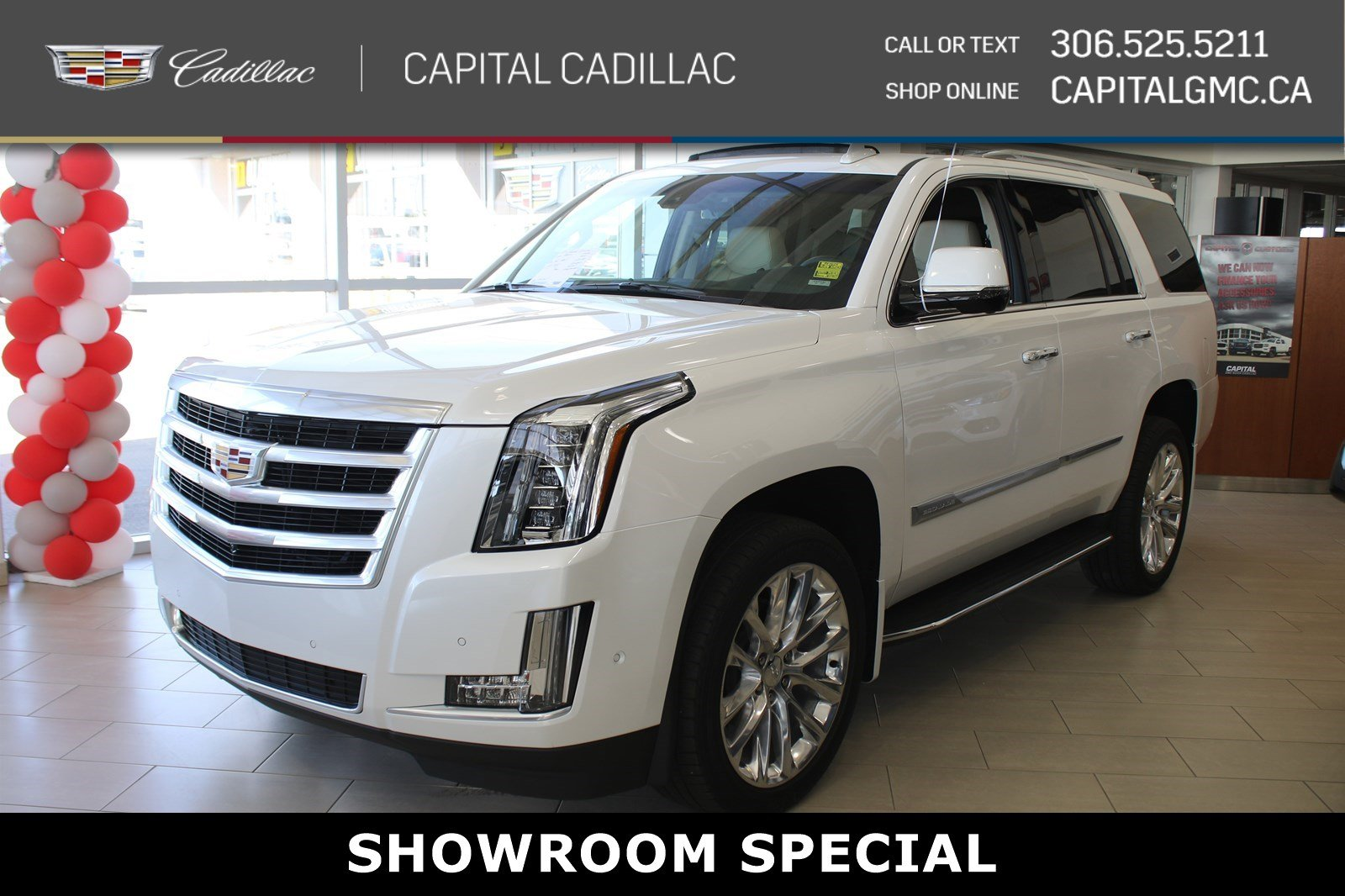 Certified Pre-Owned 2019 Cadillac Escalade Luxury 4WD*LEATHER*SUNROOF*NAV*