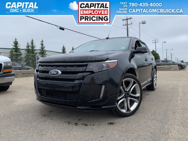 Pre Owned 2013 Ford Edge Sport Awd Heated Seats Sunroof Remote Start 85k Kms Awd Stock 29768b