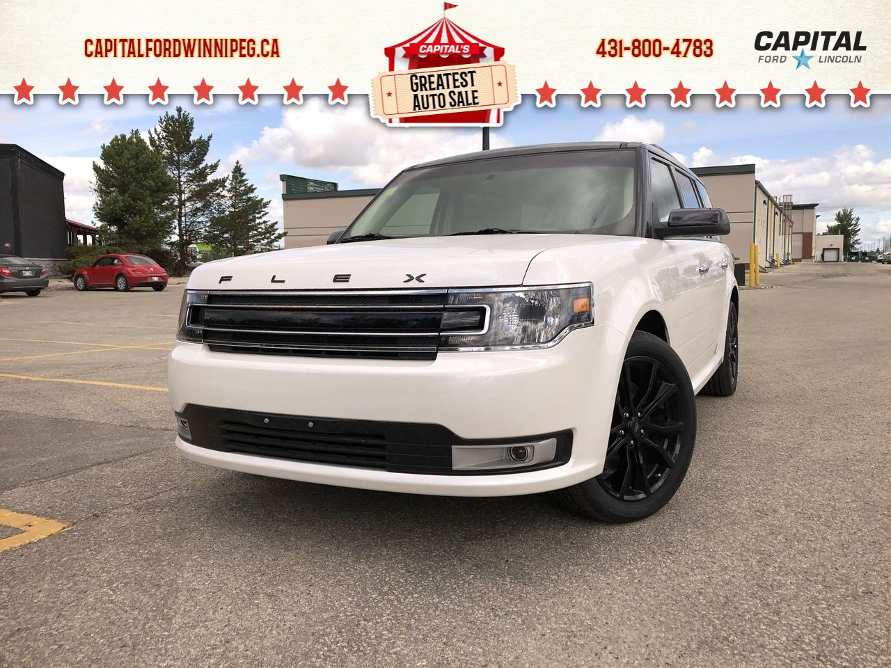 New 2019 Ford Flex SEL*Only $338 bw!*Bluetooth*AWD*Vista Roof*6 Seater*Remote Start