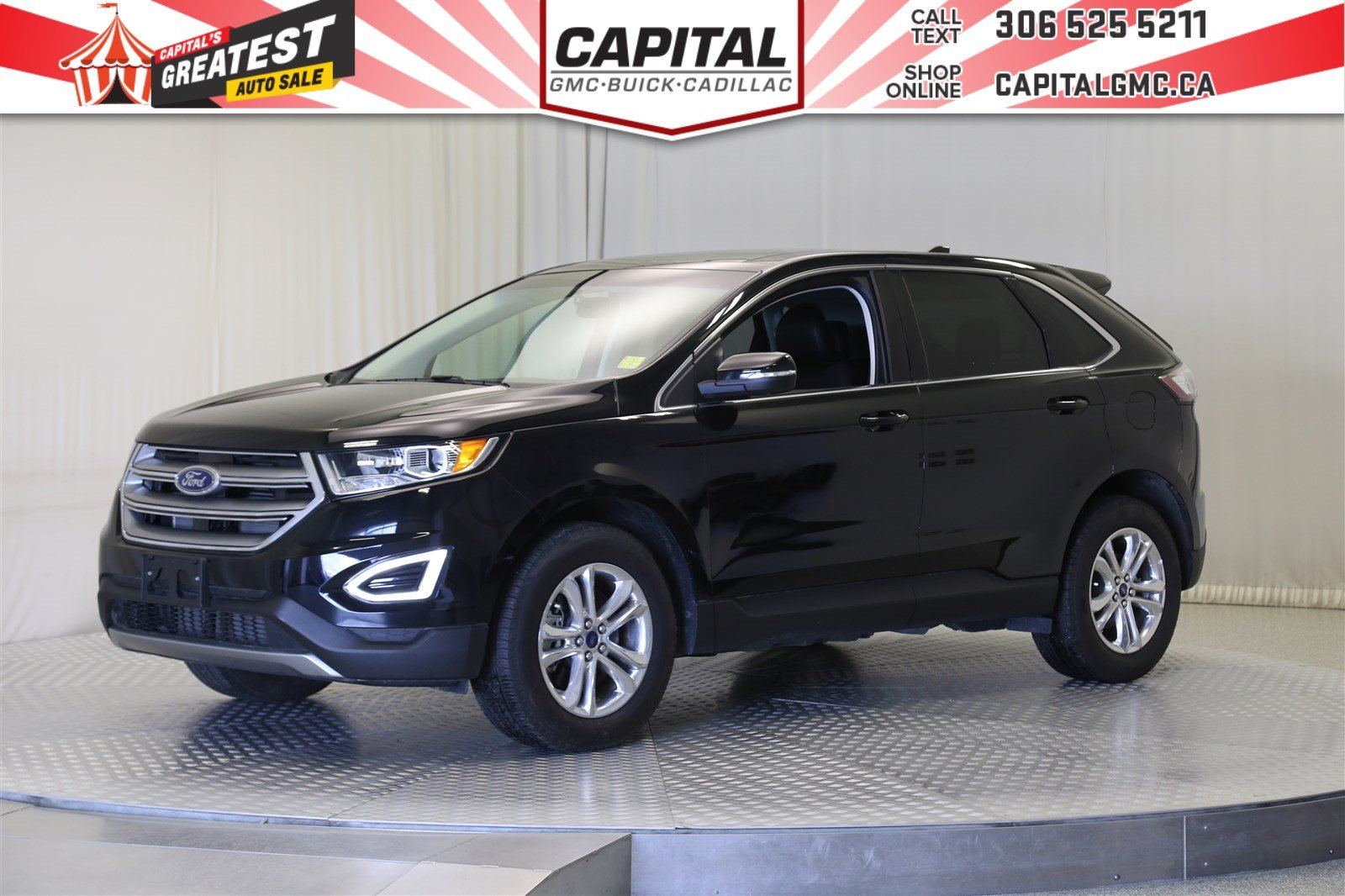 Certified Pre Owned  Ford Edge Sel Awdvnavsunroof