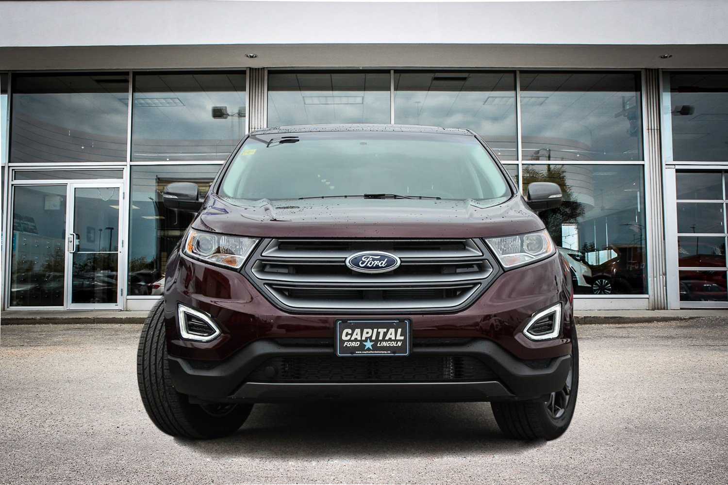 Pre Owned  Ford Edge Sel Awd New Arrival