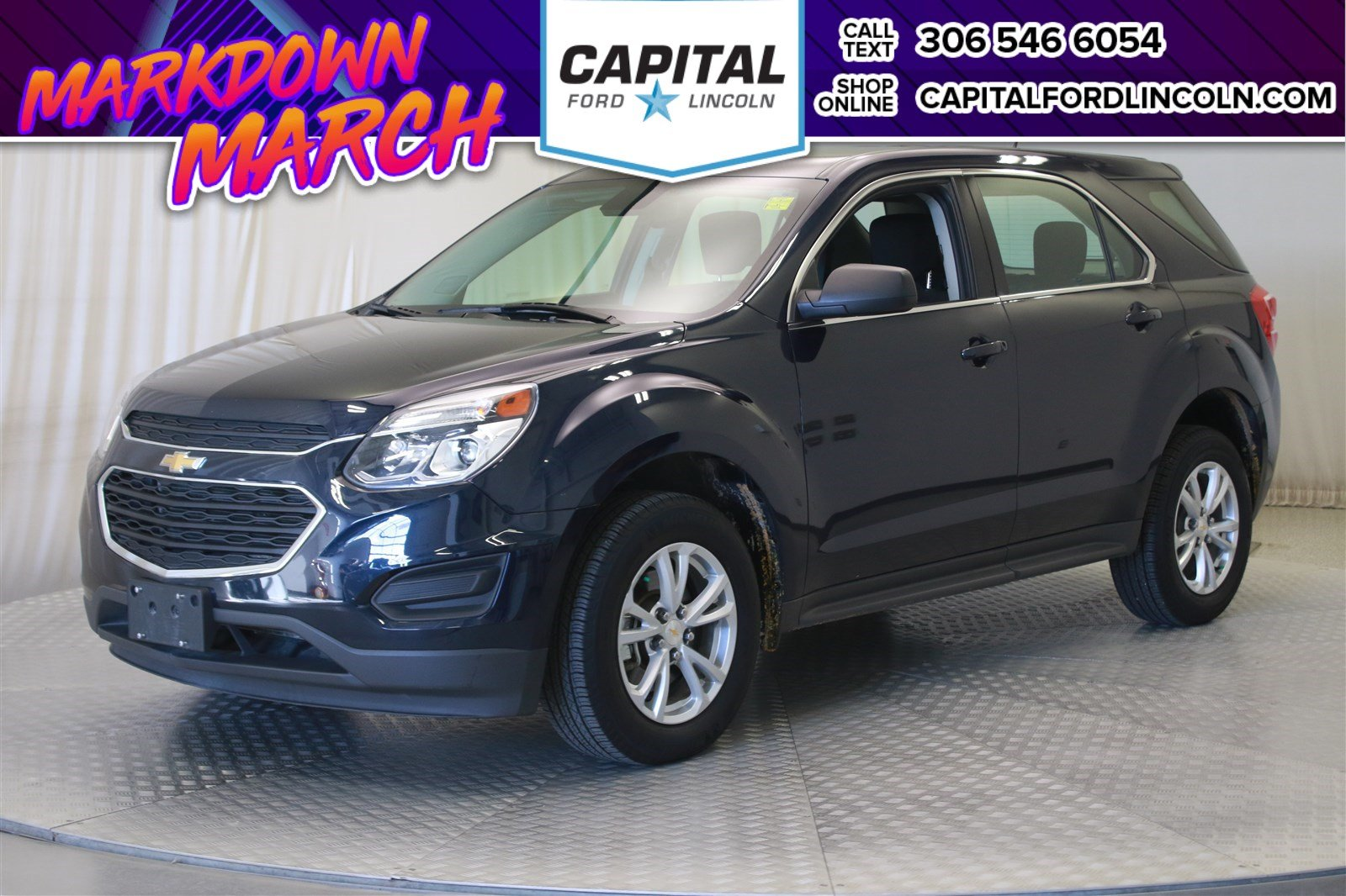 Pre Owned 2017 Chevrolet Equinox Ls Awd