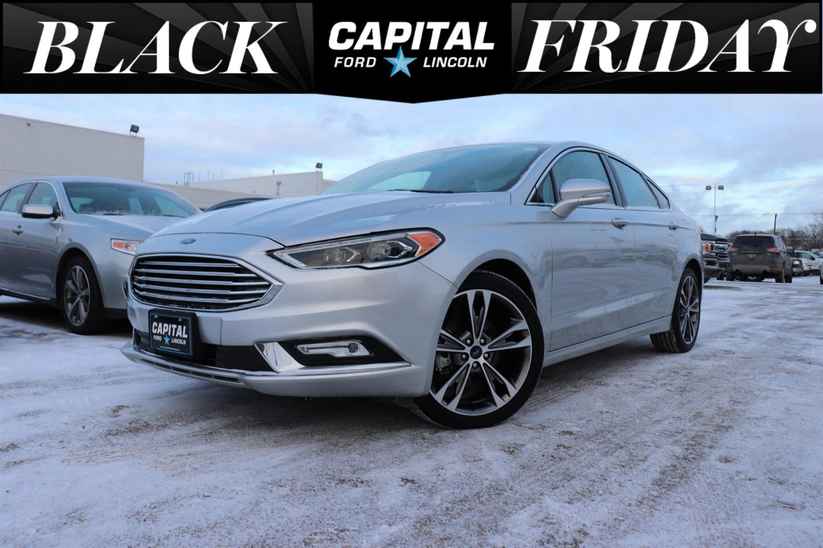 Pre owned 2017 ford fusion titanium awd