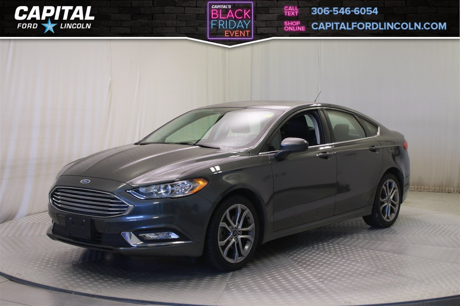 Pre owned 2017 ford fusion se sunroof
