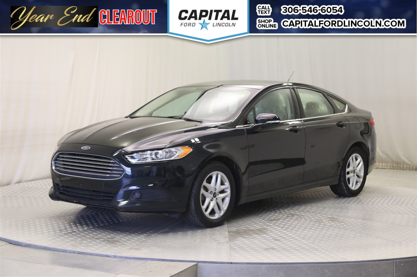 Pre owned 2014 ford fusion se