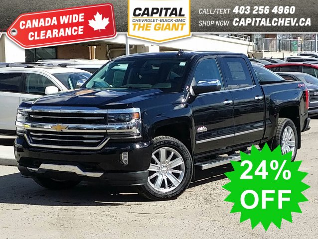 New 2018 Chevrolet Silverado 1500 High Country - $1 OVER INVOICE