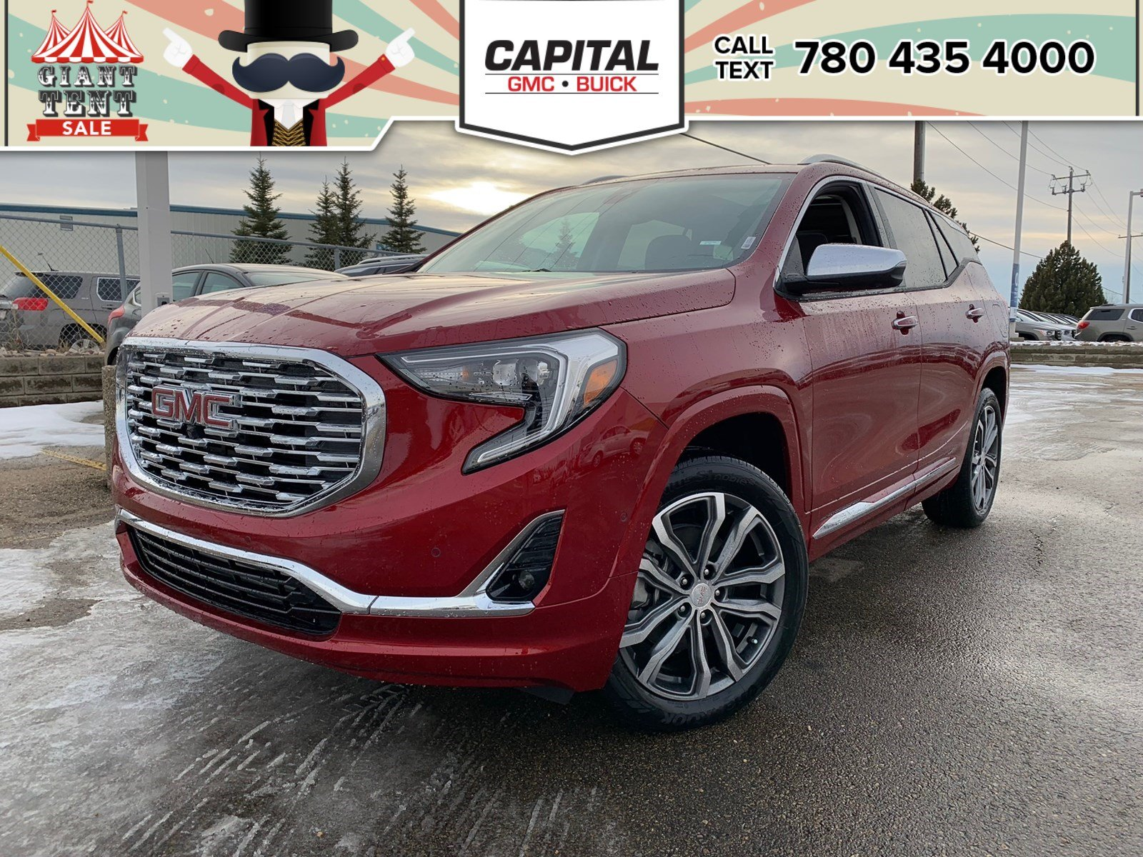 New 2019 GMC Terrain Denali AWD