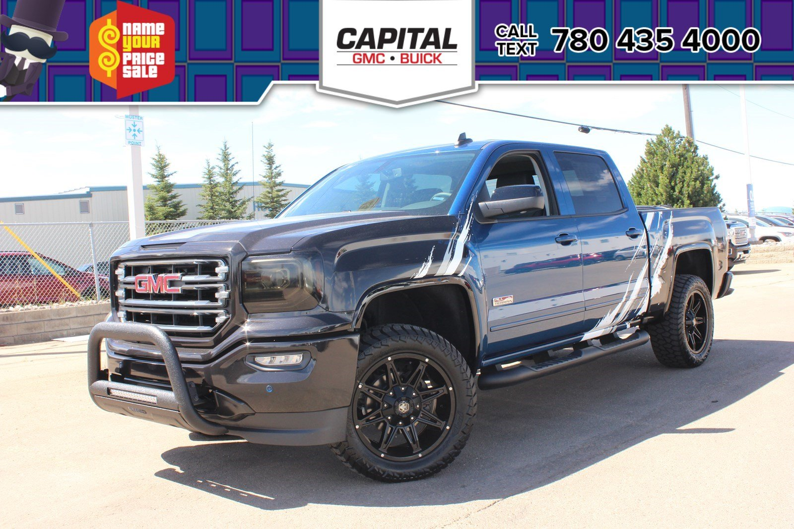 Pre-Owned 2018 GMC Sierra 1500 Crew Cab SLT All Terrain | LEVELING KIT