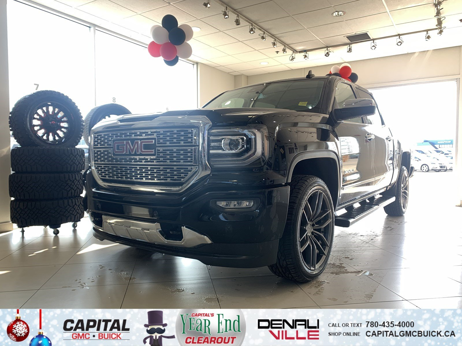 Pre-Owned 2018 GMC Sierra 1500 BRAND NEW | DENALI | HEATED & COOLED SEATS | HEATED STEERING WHEEL | SUNROOF