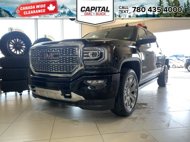 Pre-Owned 2018 GMC Sierra 1500 BRAND NEW | CREW CAB DENALI | HEATED &  COOLED SEATS | HEATED STEERING WHEEL | SUNROOF 4WD Stock: 281259