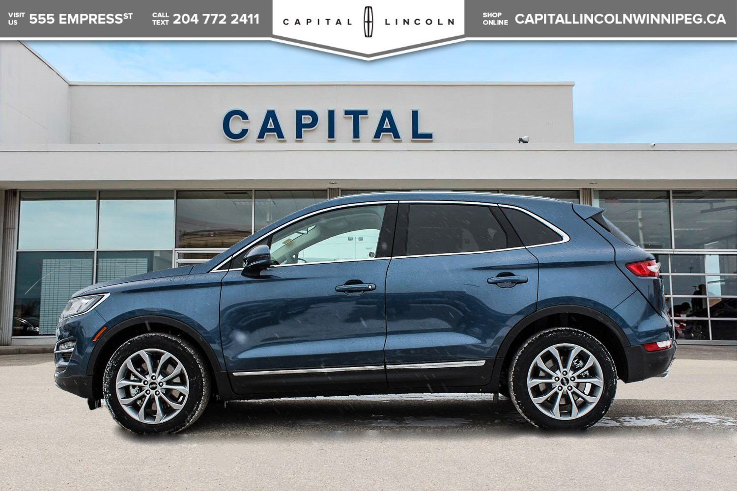 Pre Owned 2018 Lincoln Mkc Select Awd W Remote Start Heated 2007 Mkx Fuel Filter Leather
