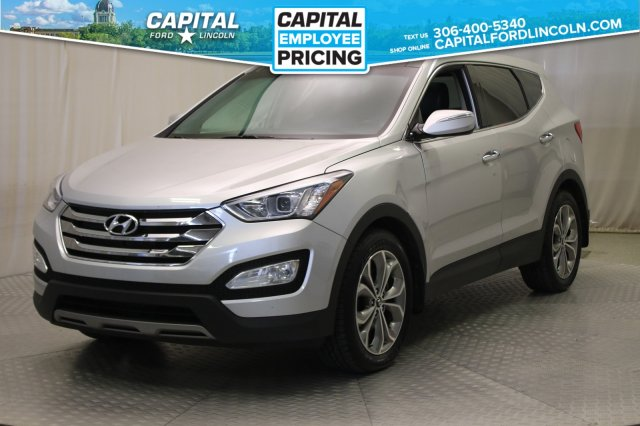Pre Owned 2013 Hyundai Santa Fe Limited Leather Sunroof Navigation With Navigation Awd Stock U693b