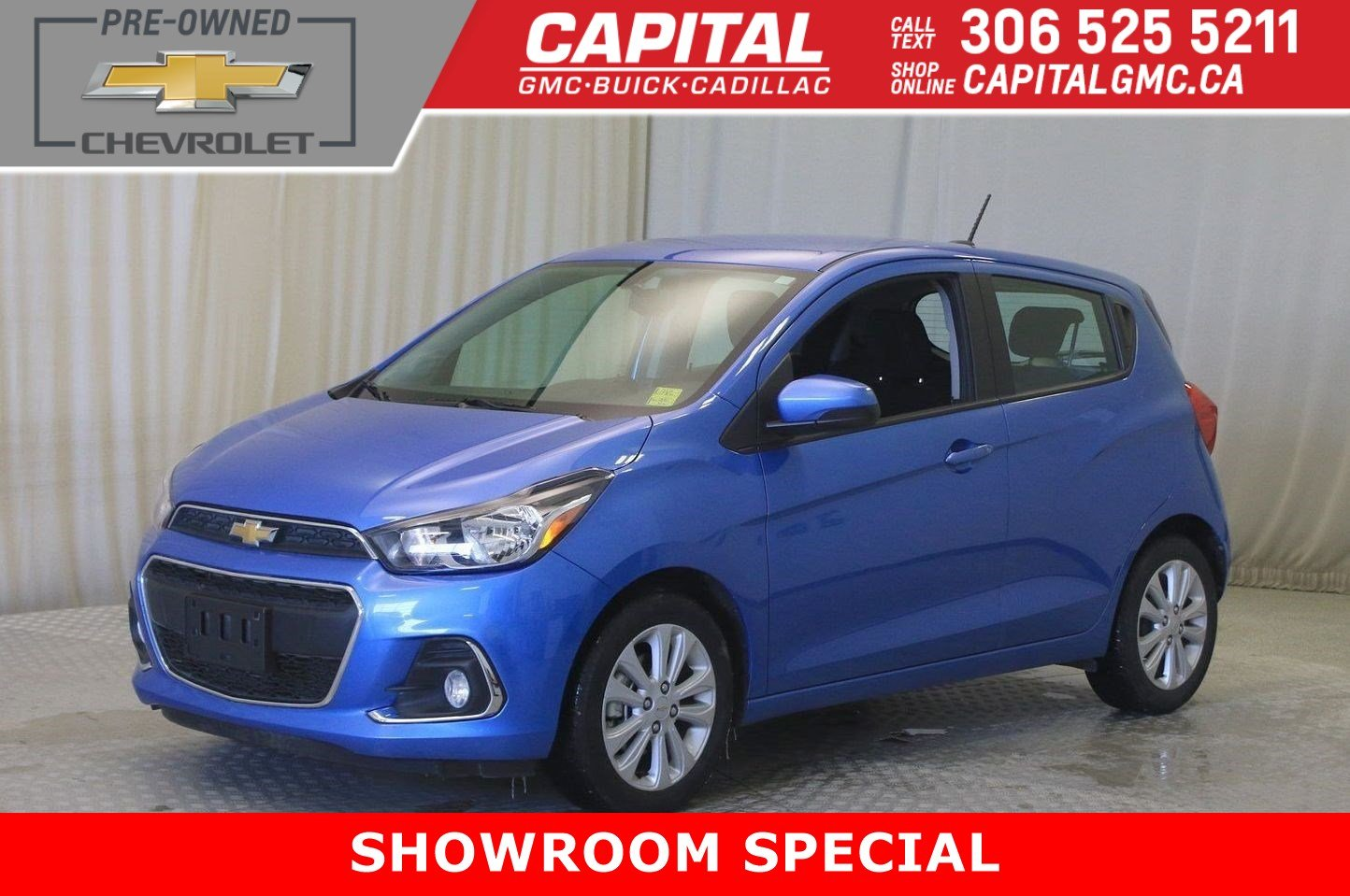 Certified Pre-Owned 2018 Chevrolet Spark LT HB