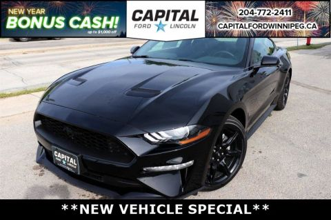 New 2018 Ford Mustang EcoBoost*Black Package*Automatic*Bluetooth