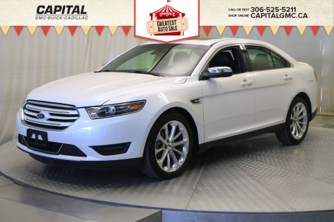 Certified Pre-Owned 2018 Ford Taurus Limited AWD*LEATHER*SUNROOF*NAV*
