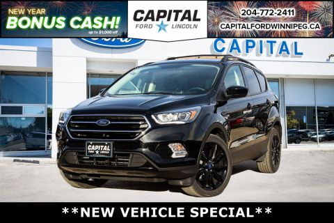 New 2018 Ford Escape SE Sport Appearance Pkg*Sync3*1.5L