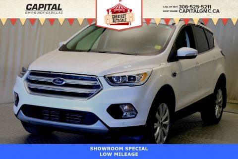 Certified Pre-Owned 2018 Ford Escape Titanium 4WD*LEATHER*SUNROOF*NAV*