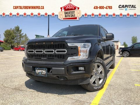 New 2019 Ford F-150 XLT*Sport*3.5L*Navigation*Bluetooth*Custom Grille