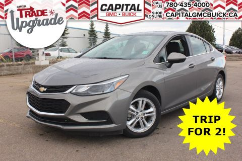 Pre-Owned 2018 Chevrolet Cruze LT TRUE NORTH | REMOTE START | HEATED SEATS | REAR CAMERA | 27K KMS