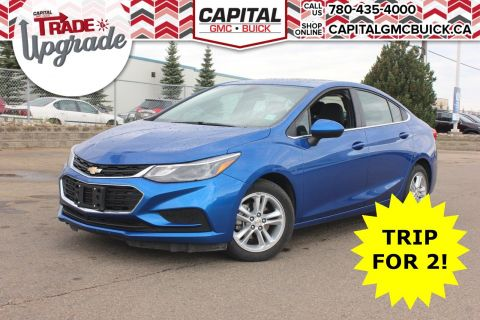 Pre-Owned 2018 Chevrolet Cruze LT TRUE NORTH | REMOTE START | HEATED SEATS | REAR CAMERA | 33K KMS